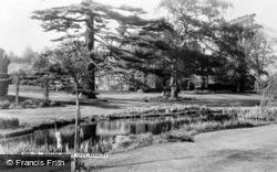 Bramley, Birtley House Lake c.1955