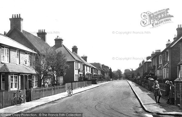 Photo of Bramley, Eastwood Road 1921