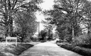 Bramley, Entrance To Village c.1955