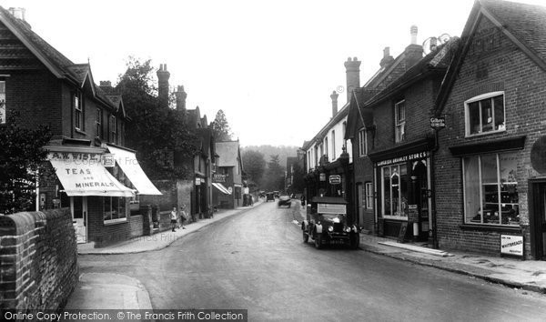 Bramley, High Street 1929