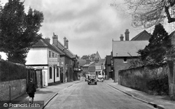 Bramley, High Street 1939