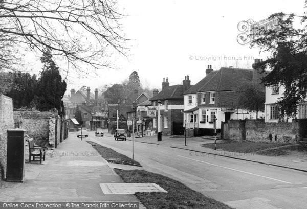 Photo of Bramley, High Street c1955