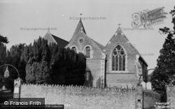 Bramley, Holy Trinity Church c.1955