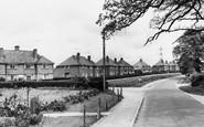 Bramley, Moat Close c.1960