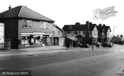 Bramley, Post Office And Ball Inn c.1960
