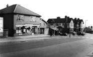 Bramley, Post Office And Ball Inn c.1965