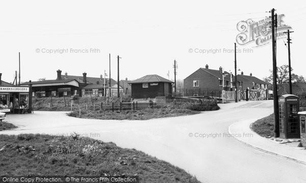 Bramley, The Level Crossing c.1960