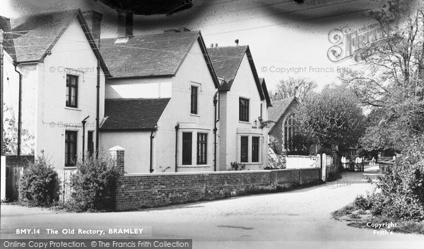 Bramley, The Old Rectory c.1955