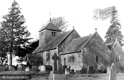 Brampton Abbotts, St Michael's Church c.1960