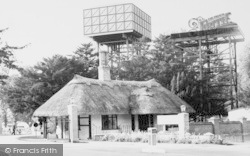 Camp Entrance And Water Tower c.1960, Brampton