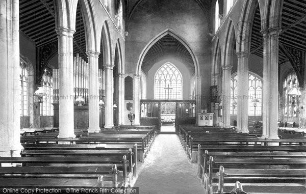 Brampton, Church Interior 1898