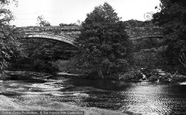 Photo of Brampton, Lanercost Bridge c.1955