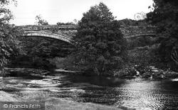Brampton, Lanercost Bridge c.1955