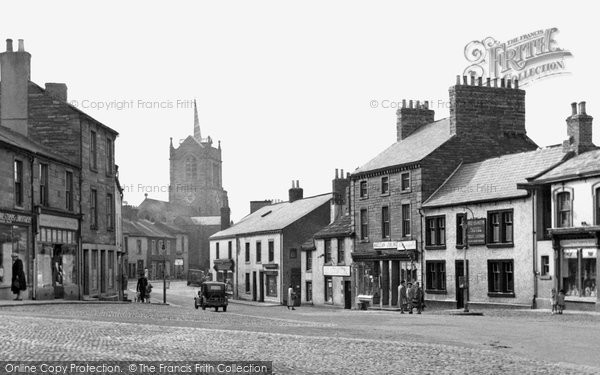 Photo of Brampton, Market Place And St Martin's Church c.1955