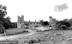 Brampton, Naworth Castle c.1955