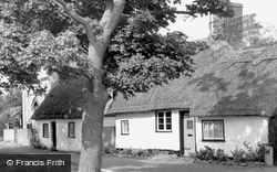 Thatched Cottages c.1960, Brampton