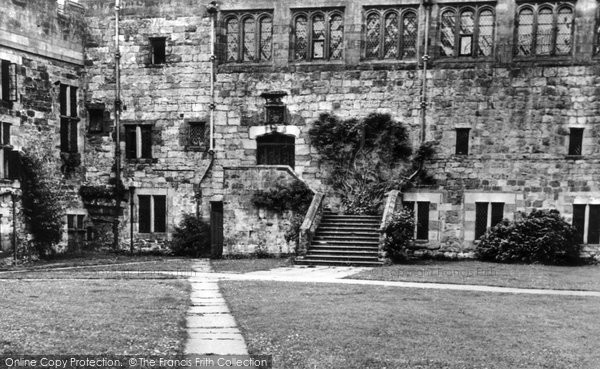 Photo of Brampton, The Courtyard, Naworth Castle c.1955
