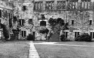 Brampton, The Courtyard, Naworth Castle c.1955