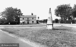 The Royal Oak And Signpost c.1960, Brampton