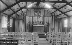 Camp, The Catholic Church Interior 1917, Bramshott