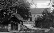 Bramshott, Church And Lychgate c.1960