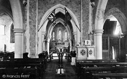 Bramshott, Church Interior 1917