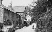 Bramshott, Shop In Tunbridge Lane 1911