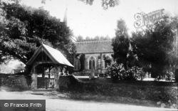 Bramshott, The Church And Lychgate 1901