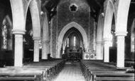 Bramshott, The Church Interior 1901