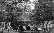 Bramshott, The Old Stone Bridge 1901