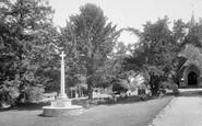Bramshott, War Memorial 1924