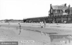 Brancaster, The Beach c.1965