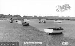 Brancaster, The Harbour c.1965