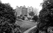 Brancepeth, The Castle 1914