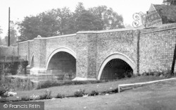 Bridge From Ouse Hotel c.1955, Brandon