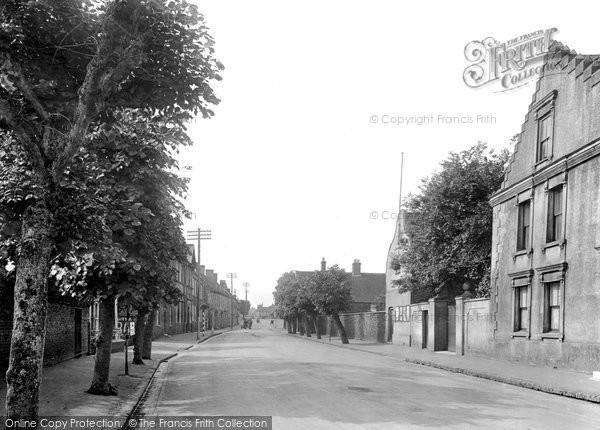 Brandon, High Street 1925