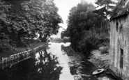 Brandon, River Ouse From Bridge c.1955