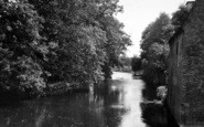 Brandon, The River Ouse c.1950