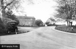 The Mill House And Cross Roads c.1965, Brandsby