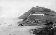 Branscombe, Beach 1898