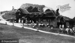 Branscombe, Beach Cafe c.1955