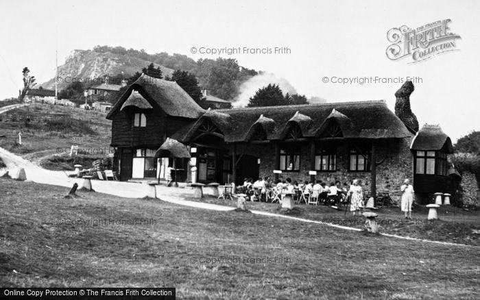 Photo of Branscombe, Beach Cafe c.1955