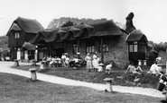 Branscombe, Beach Cafe c1955