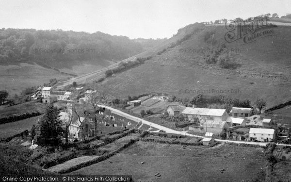 Photo of Branscombe, Church And Village 1931