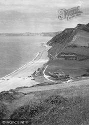 Branscombe, Cliffs 1931