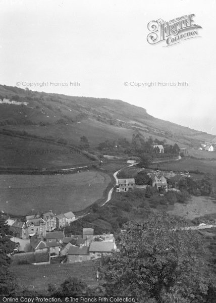 Photo of Branscombe, General View 1931