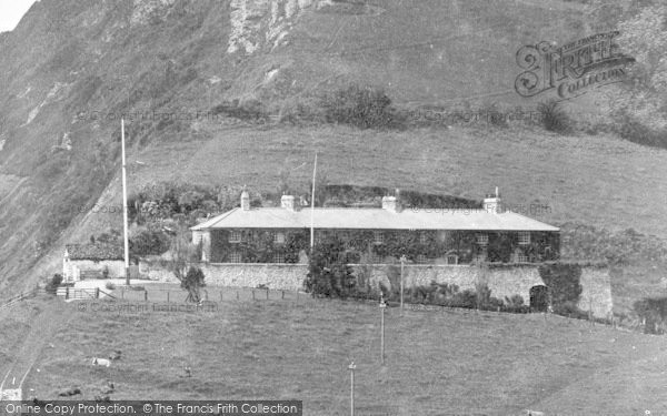 Photo of Branscombe, House On The Cliff 1931