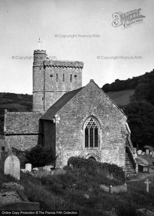 Photo of Branscombe, St Winifred's Church 1959