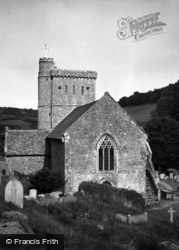 Branscombe, St Winifred's Church 1959