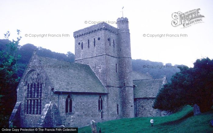Photo of Branscombe, St Winifred's Church 1988
